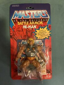 Motu Masters of the Universe Moc Ovp Commemorative Series Battle Armor He Man