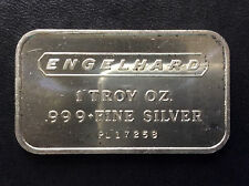 1972 Engelhard Industries Commercial Silver Art Bar EI-1A A4306