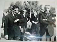 Foto originale HELENIO HERRERA e FERRUCCIO VALCAREGGI C.T. NAZIONALE 1967
