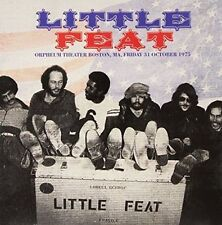 Little Feat - Orpheum Theater Boston MA Friday 31st October 1975. 2lp