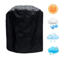 Cy_ Waterproof Anti UV Round Outdoor BBQ Grill Furniture Cover Protective Case C