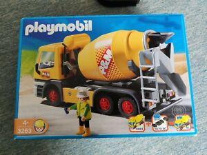 Playmobil Betonmischer mit Fernbedienung 3263 + 4856