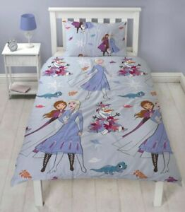 Disney Frozen Bedding Set Cherish Reversible 2 In 1 Duvet Cover Single