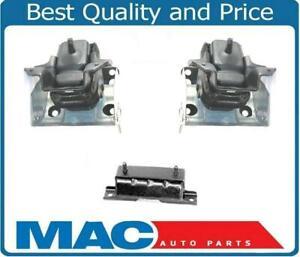 Engine & Trans Mount 3p Kit For 4 Wheel Drive 08-13 Silverado 1500 5.3L 6.2L
