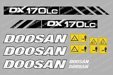 DOOSAN DX170LC BAGGER-AUFKLEBER-SATZ