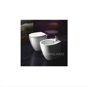 Catalano Velis 50x37 Back To Wall Pan with Soft Close Seat
