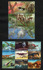Dinosaurs & Prehistoric Animals 2 Complete Postage Stamps Sheets Collection