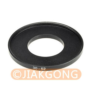 30mm-52mm 30-52 mm 30 to 52 Step Up Ring Filter Adapter