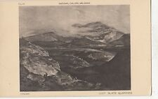 BF18097 crome slate quarries national gallery mill painting art front/back image