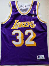 Magic Johnson 32 Los Angeles Lakers NBA basketball jersey Champion size L 44