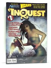 Inquest #1 (May 1995) Magic the Gathering - promo Rage card intact