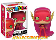 Funko Teen Titans Go - Starfire as The Flash Pop Vinyl Figure