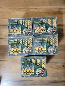 Doom Trooper Limited Starter Deck Box Mutant Chronicles New 1994 (10 Decks)