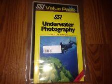 Scuba Schools International Underwater Photography Specialty Manual w/ Dive Logs