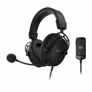HyperX Cloud Alpha S Wired 7.1 Surround Sound Gaming Headset for PC Blackout