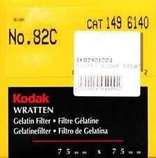 Kodak Wratten Filtro Gelatina 82C Corrección de color (75mmx75mm)