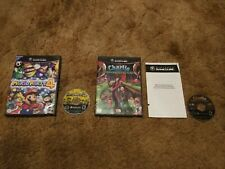 Mario Party 4 (Nintendo GameCube) w/ Charlie and the Chocolate Factory Complete