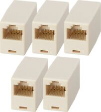 x5 RJ45 LAN Ethernet Network Cable Coupler Female Joiner Cat 5e Cat 6