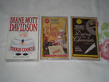 TOUGH COOKIE; DYING FOR CHOCOLATE; THE LAST SUPPER by DIANE MOTT DAVIDSON -TP-FM