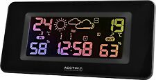 Acctim Andreas Colour Change Digital RC Multi Function Weather Station Clock