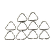 10 Pcs Metal Triangle Split Rings Buckle Replacement Camera Hang Hook Accessory