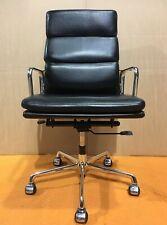 ICF Eames EA219 - Black Soft Pad Leather