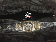 WWE WORLD HEAVYWEIGHT CHAMPIONSHIP WRESTLING BELT WWF TITLE BIG LOGO 2014 NEW