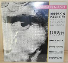 LP ANDREA CENTAZZO Omaggio a P. Pasolini (Index 89) Italian jazz poetry SEALED!