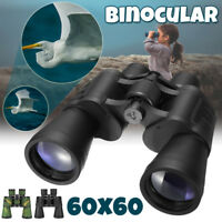Day/Night Telescope 60x60 Military Army Zoom Ultra HD Binoculars Hunting Camping