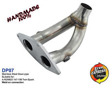 Downpipe Exhaust 54mm stainless steel for ALFA ROMEO 147 156 Twin Spark DP07