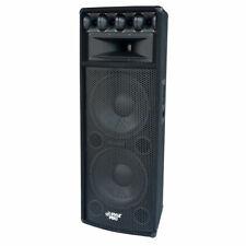 """Pyle 1600W Outdoor 7 Way Pa Loud-Speaker Cabinet w/ Dual 12"""" Woofers (Open Box)"""