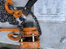 Ingersoll Rand L5h400 10 Ir Lever Chain Hoist 2 Ton Roughneck