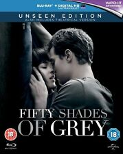FIFTY SHADES OF GREY****BLU-RAY****REGION B****USED ONCE