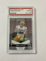 Aaron Rodgers PSA 10 2010 Panini Certified Green Bay Packers