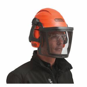 Oregon 564101 Pro Helmet Combo High-Impact Scratch Resistant Lightweight