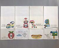 Vintage STATIONERY PAULA 1975 Writing Paper Lot Spanish LOVE FRIENDSHIP Letter