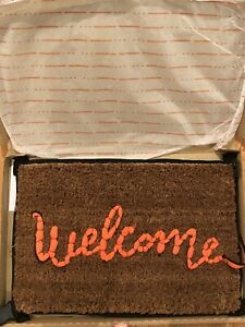 Banksy Welcome Mat Gross Domestic Product Love Welcomes Sold Out