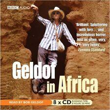 Geldof in Africa - Audio CD box set NEW SEALED
