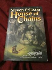 House of Chains by Steven Erikson (2006, HC) first US print Malazan Book Fallen