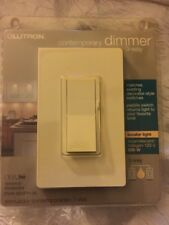 Lutron DVW-603PH-AL Dimmer Switch, 600W 3-Way Incandescent Diva w/ Wall Plate