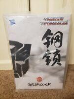 Transformers Masterpiece Grimlock Asia Exclusive White Box Cybertron Con 2013