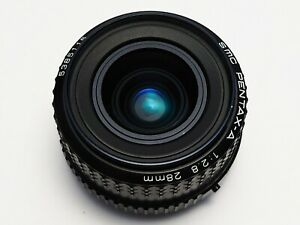 Pentax - A SMC 28mm F2.8 Wide Angle Prime Lens +++ CRYSTAL CLEAR OPTICS +++