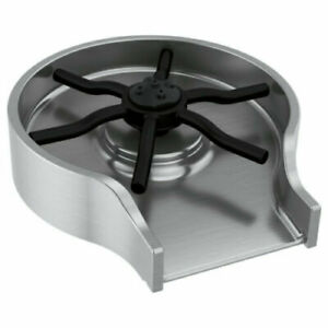 Delta GR250 Metal Glass Rinser - Arctic Stainless