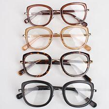 Vintage Men Women Unisex Nerd Glasses Clear Lens Eyewear Retro