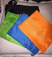 Travel Packing Bags set of four Colorful Nylon Drawstring Bags