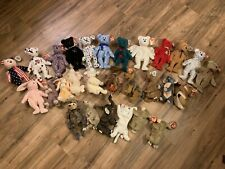 Lot Of 28 Beanie Babies With Tags On