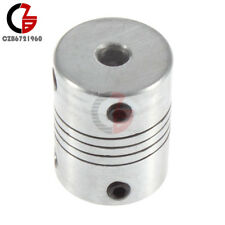 5mmx8mm CNC Motor 3D PrinterJaw Shaft Coupler 5 -8mm Flexible Coupling 5x8mm