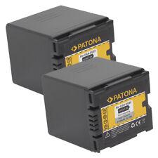 2x Batteria Patona 2100mah li-ion per Hitachi DZ-BD7H,DZ-BX37E,DZ-GX20,DZ-GX20A