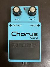 Boss CE-2 Chorus Vintage Guitar Effects Pedal - Early Black Label Made In Japan