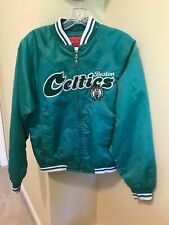 BOSTON CELTICS REEBOK JACKET FULL ZIP SIZE YOUTH M NBA BASKETBALL